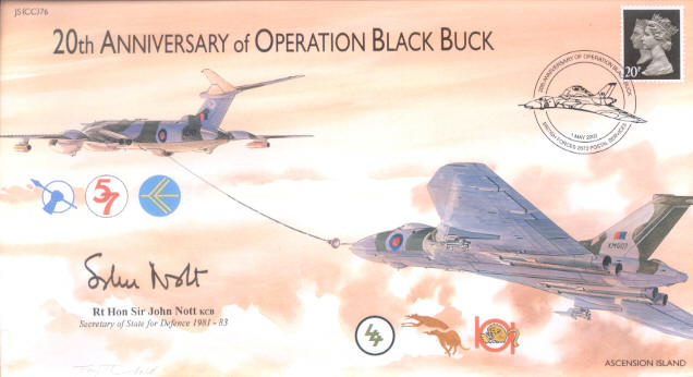 OPERACIÓN BLACK BUCK (una misión épica)